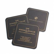 Square Printed Beer Mats