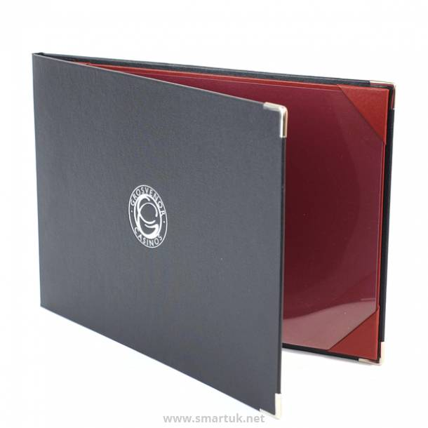 London Buckram Menu Covers